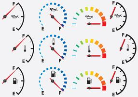 Colorful Gauges