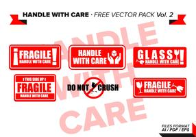Handle With Care Free Vector Pack Vol. 2