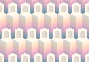 Seamless Pattern Block Entrance