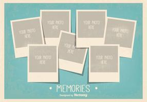 Vintage Style Photo Collage Template