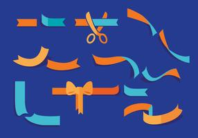 Ribbon Cutting Vectors