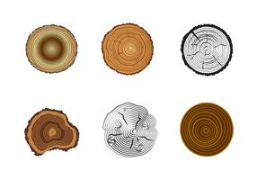 Free Tree Rings Vector