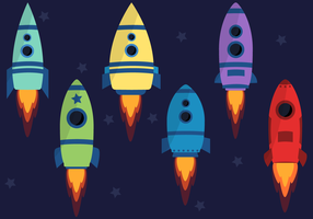 Free Spaceship vector