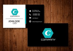 Hexagon Creative Business Card