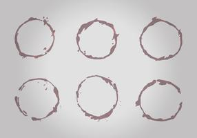 Free Wine Stains Vector Pack
