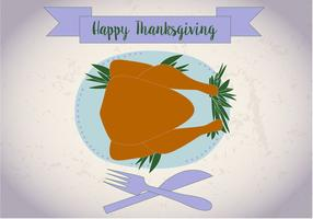 Free Thanksgiving Meal Vector