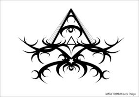 MATA TOMBAK Symbol Vector