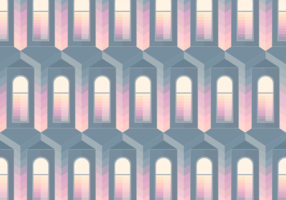 Seamless Pattern Dark Window