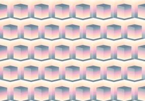 Seamless Pattern Glow Cube