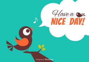 Free Have A Nice Day Vector Card