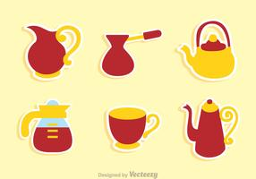 Coffee Pot And Cup Sets