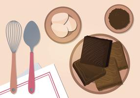 Brownies Vector Illustration