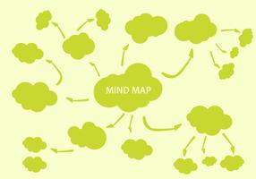 Free Mind Mapping Element Vector