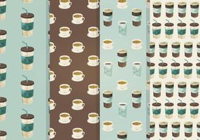 Coffee Seamless Vector Pattern