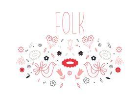 Free Folk Vector