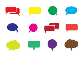 Free Speech Bubble Vector