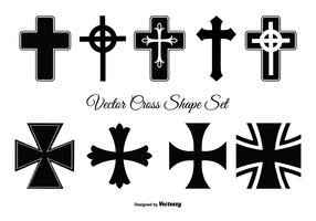 Assorted Cross Shape Set