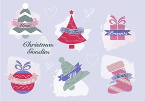 Free Christmas Elements Vector Background
