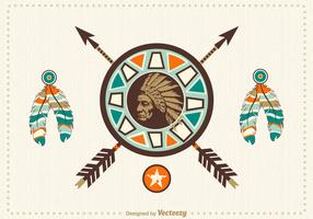Free Native American Vector Design