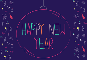 Free Happy New Year Vector