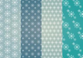 Snowflakes Vector Patterns