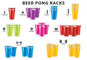 Beer Pong Racks