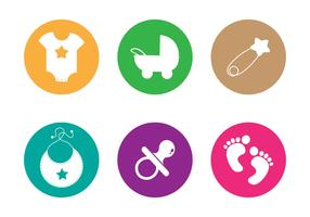 Baby Footprints Vector
