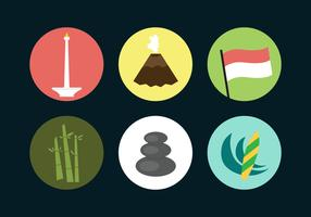 Indonesia Vector Icons