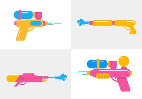 Songkran Vector Guns