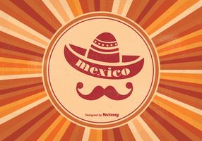 Retro Mexican Style Background