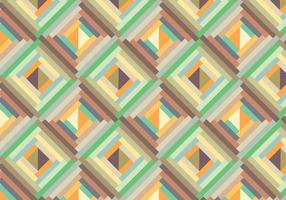 Retro geometric pattern background