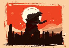 Vector Godzilla