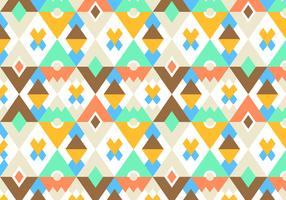 Bright Pattern Vector Background