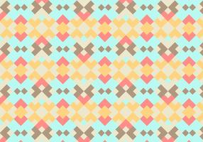 Coral Abstract Geometric Vector Background