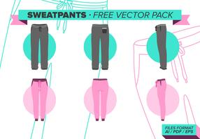 Sweatpants Free Vector Pack