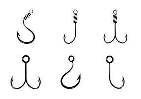 Free Fish Hook Vector Icon