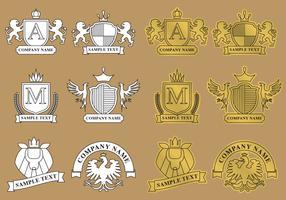 Modern Heraldic Logos