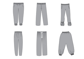 Free Sweatpants Vector