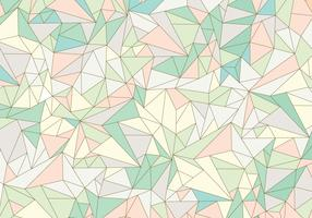 Pastel Abstract Gemstone Pattern