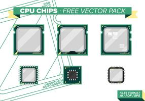 Cpu Chips Free Vector Pack