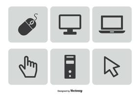 Computer Related Icon Set