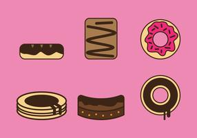 Free Brownie Vector Icons #3