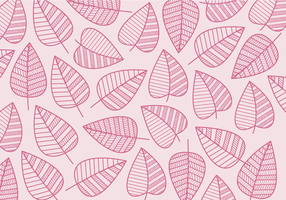 Free Geometrical Leaves Vector