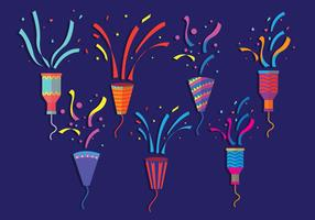 Party Popper Vectors