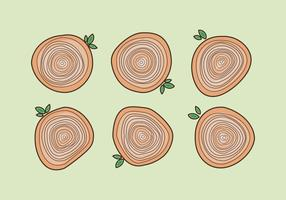 Free Tree Rings Vector Illustration #20