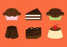 Free Brownie Vector Icons #2