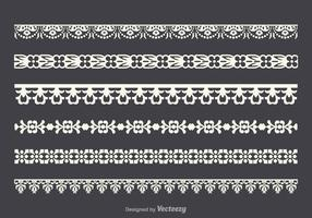 Free Vector Lace Trim Set
