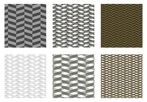 Herringbone Pattern Black Vector