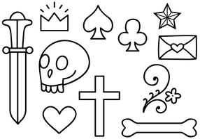 Free Old School Tattoo 2 Vectors