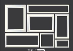 White Photo Collage Frames